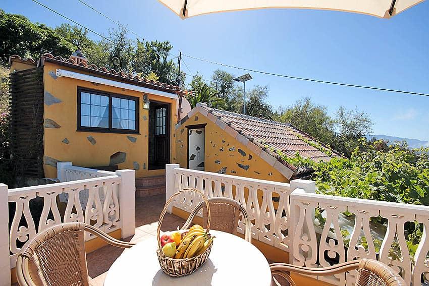 Vista desde la terraza de la cocina