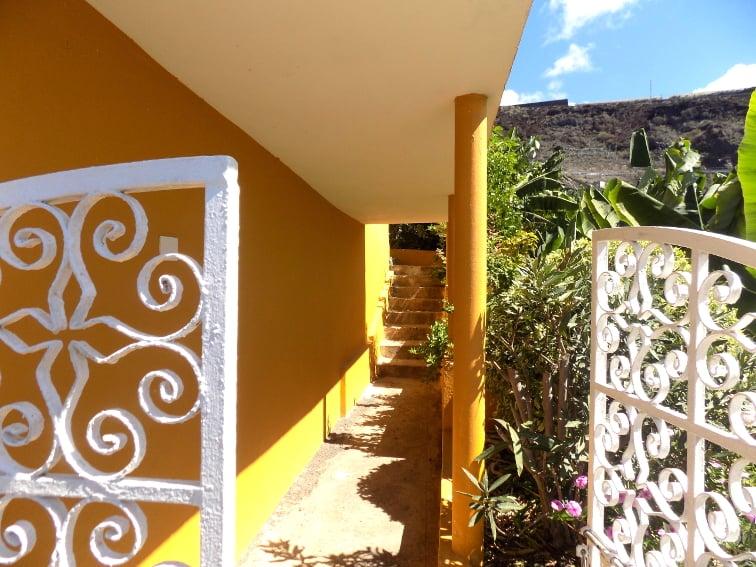 Spain - Canary Islands - La Palma - La Bombilla - Casa Plátano - Entrance area