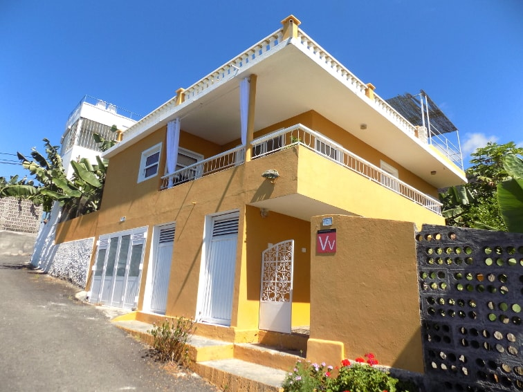 Spain - Canary Islands - La Palma - La Bombilla - Casa Plátano - Holiday home with sea and mountain view