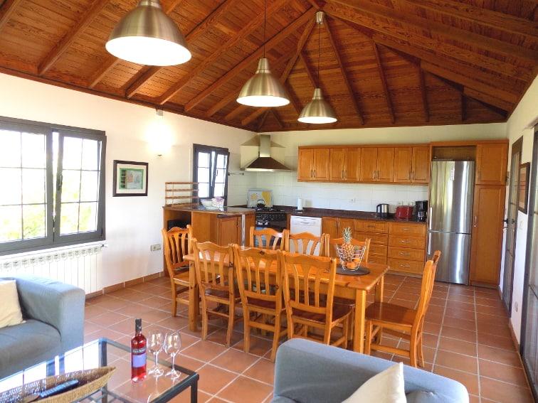 Spanien - Kanarische Inseln - La Palma - La Laguna - Casa La Grenadina - Die gut ausgestattete Küche