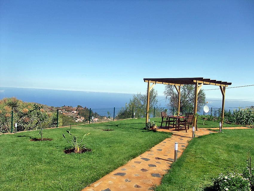 Wheelchair accessible Holiday Cottage La Palma with private pool Villa Las Viñitas: Pavillon