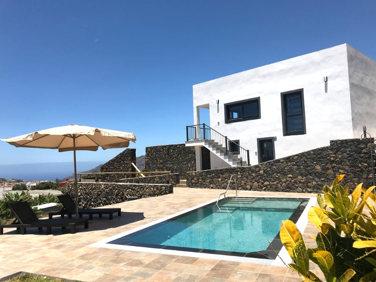 Spain - Canary Islands - La Palma - Los Llanos de Aridane - Villa La Graja - Holiday villa with private swimming pool