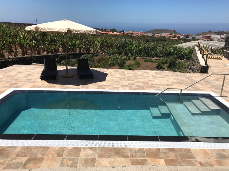 Spain - Canary Islands - La Palma - Los Llanos de Aridane - Villa La Graja - Holiday villa with private swimming pool and ocean view