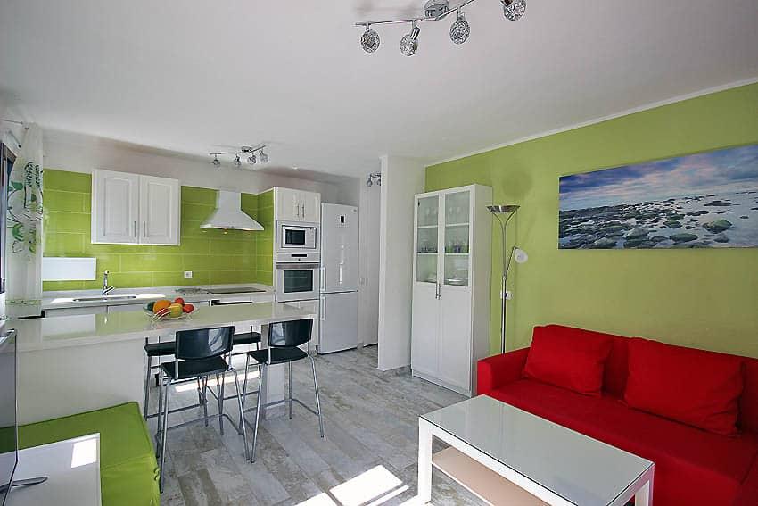 Wohnküchen apartment verode naos wohnküche cottages