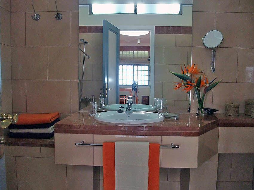 Villa mit Privatpool La Palma Villa Cerco La Cruz: Badezimmer