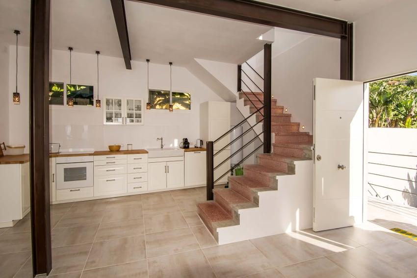 Spanien - Kanarische Inseln - La Palma - Tazacorte - Casa Alma Marina - Treppenaufgang ins Obergeschoss