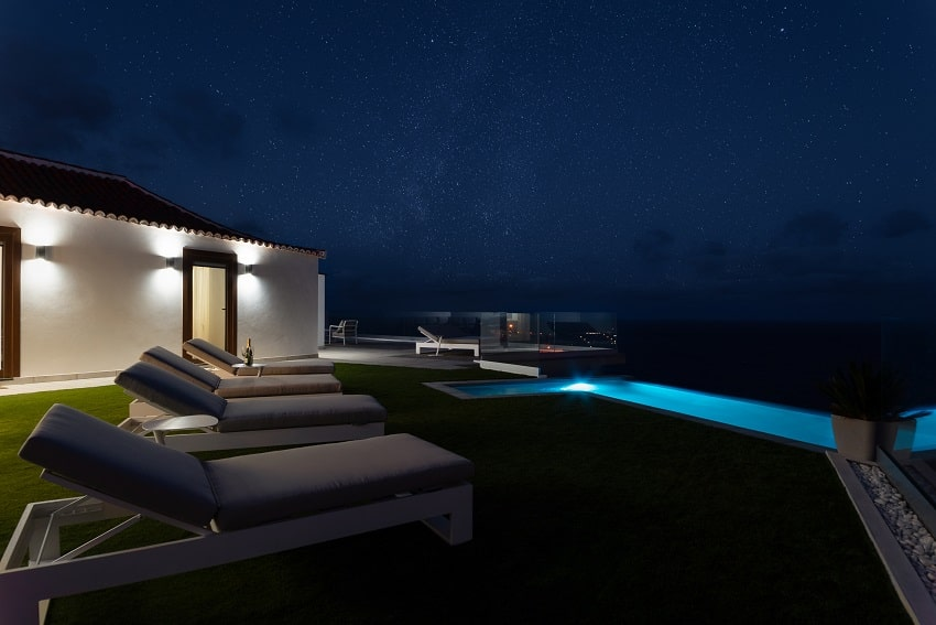 At Night, V&C Luxury Village, Holiday Cottage Los Cancajos