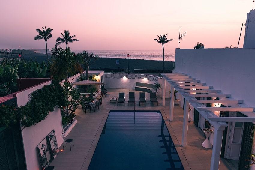 By Night, Villa Imperial, La Palma Villa