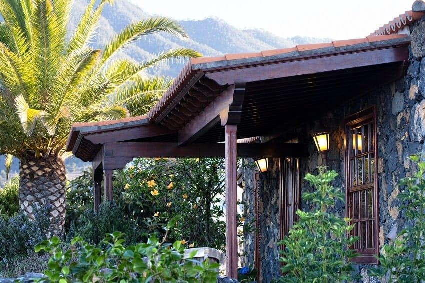 Außenansicht, Finca Esperanza, La Palma