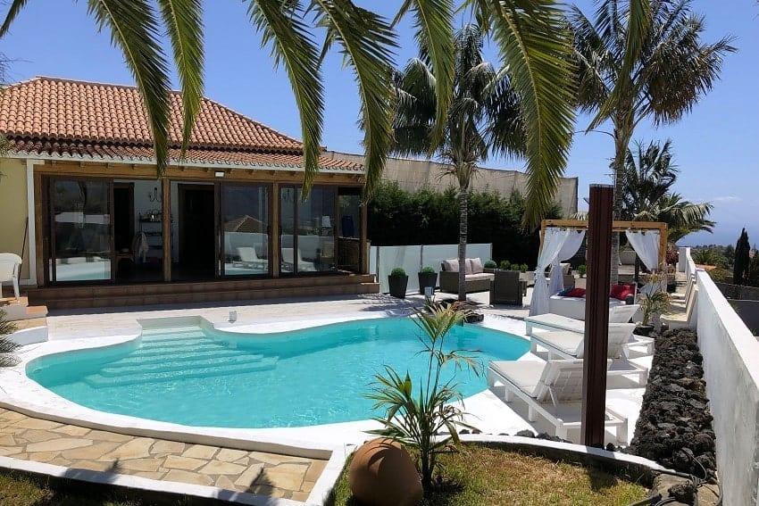 Outdoor Area, Villa Tajuya, Holiday Home La Palma