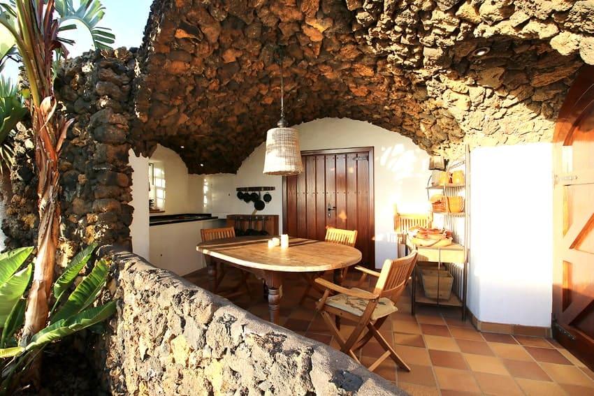 Outdoor Kitchen, Bodega, Finca Esperanza, Finca La Palma