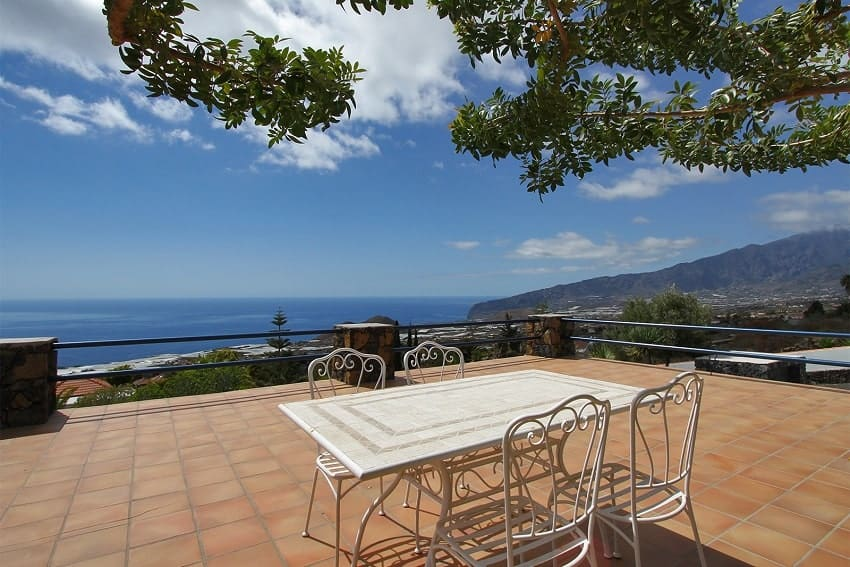 View, Casa Amalia, La Palma