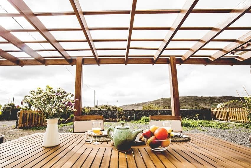 View, Casita de Papel, Holiday Home La Gomera