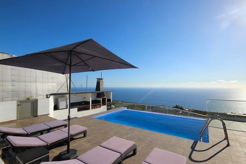 Vista, Villa Espejo, La Palma