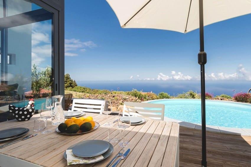 View, Villa Hahn, Villa La Palma