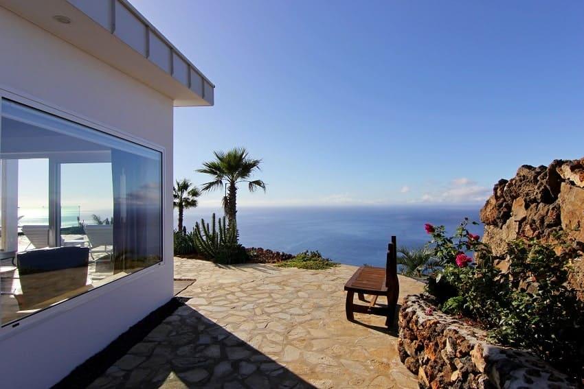 View, Villa Perla del Mar, Villa Puntagorda, La Palma