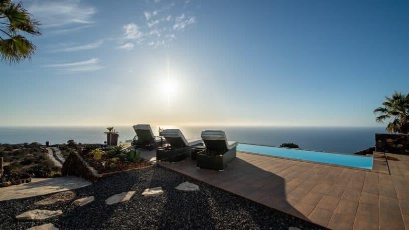 Ausblick, Villa Pura Vida, Luxus Ferienhaus La Palma