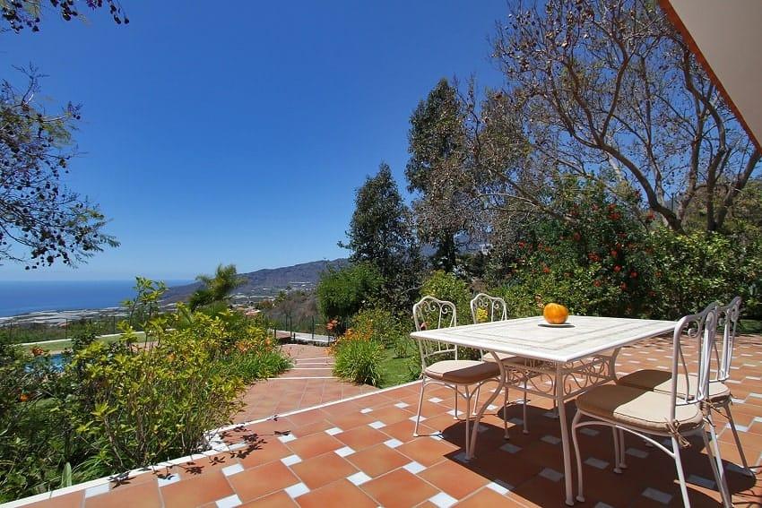 Vista, Casa Calma, La Palma