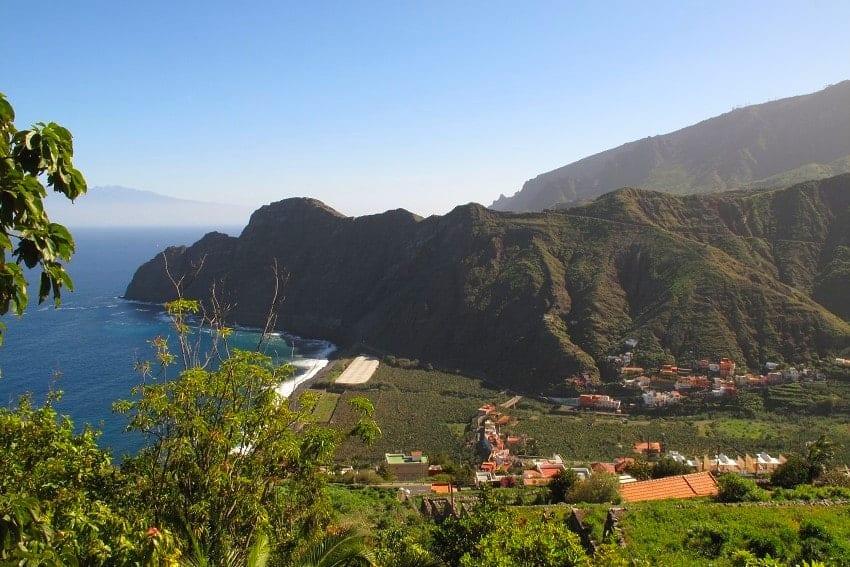 View, Casa El Tabaibal, Accommodation La Gomera
