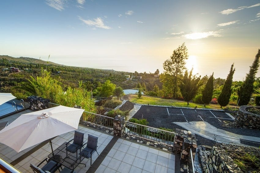 View, Casa San Borondon, Luxury Holiday Home La Palma