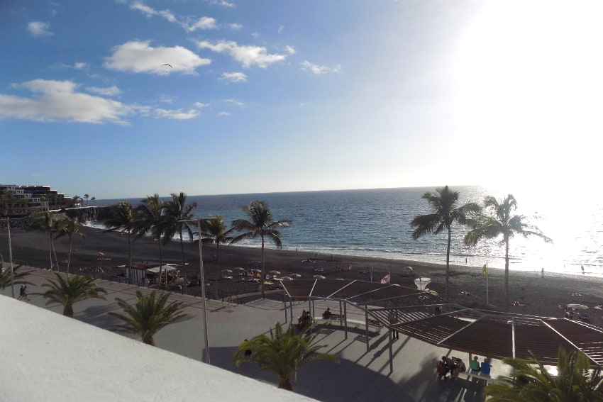 Spain - Canary Islands - La Palma - Puerto Naos - Apartment Atlántico Playa - Cozy bright apartment with balcony and stunning ocean view