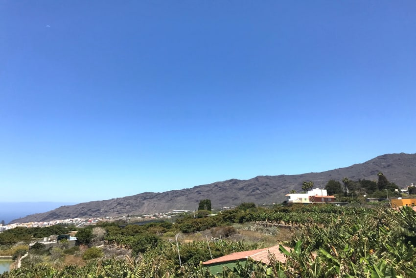 Spain - Canary Islands - La Palma - Los Llanos de Aridane - Villa La Graja - Fantastic view to Mirador El Time