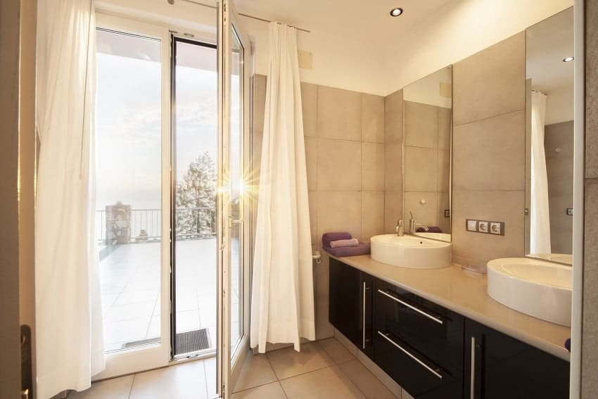 Bathroom, Casa San Borondon, Luxury Holiday Home La Palma