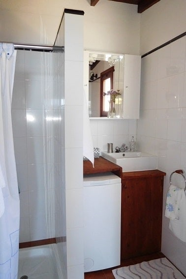 Bathroom, Casita Nidi, Holiday Home on La Palma
