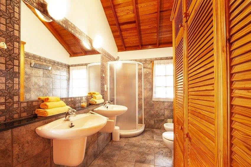 Baño, Casa Rural Tijarafe