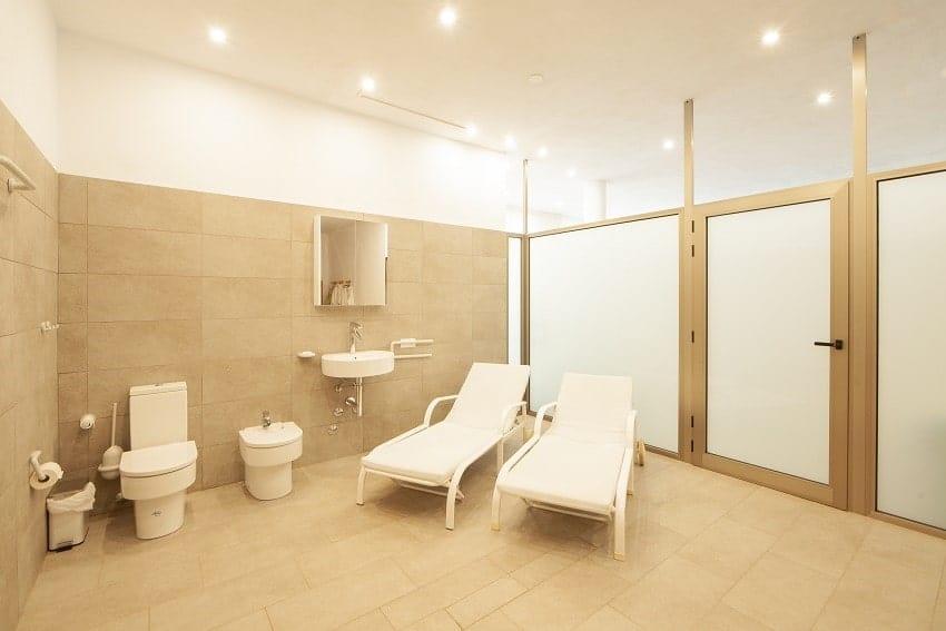 Bathroom, Sauna, Villa Alegranza, Villa Tijarafe with Pool