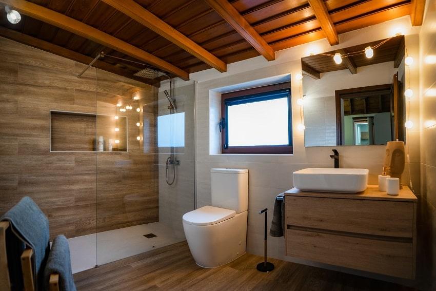 Bathroom, V&C Luxury Village, Holiday Cottage Los Cancajos