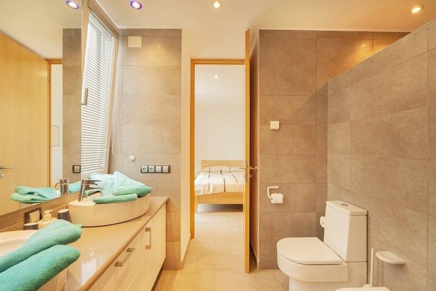Bathroom, Villa Alegranza, La Palma
