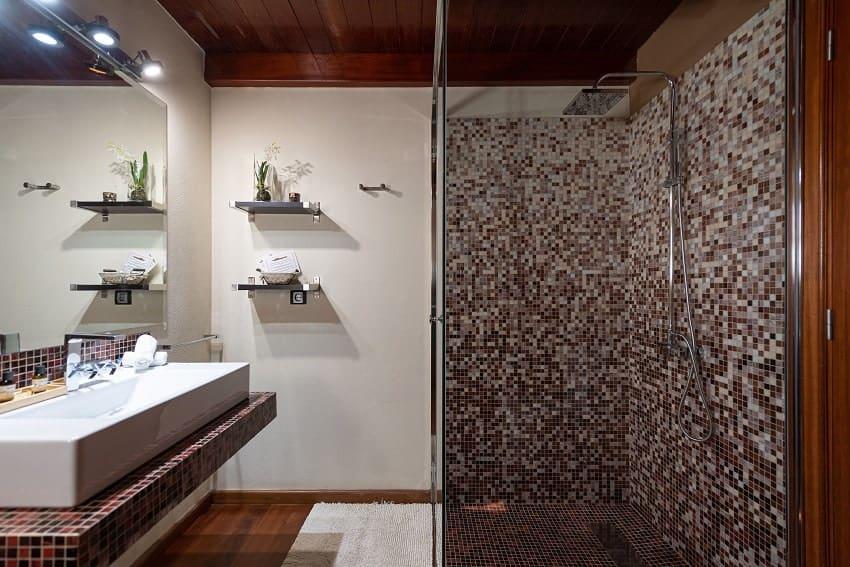 Bathroom, Villa Atlanntes