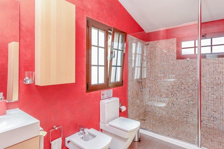 Bathroom, Villa Cobas, Holiday Cottage Fuerteventura