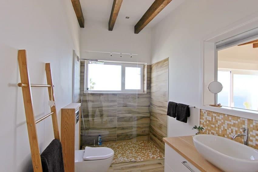 Bathroom, Villa Perla del Mar, Villa Puntagorda, La Palma
