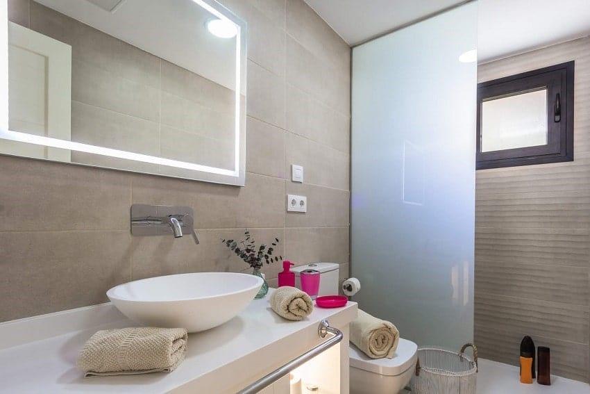 Bathroom, Villa del Mar, Villa Fuerteventura
