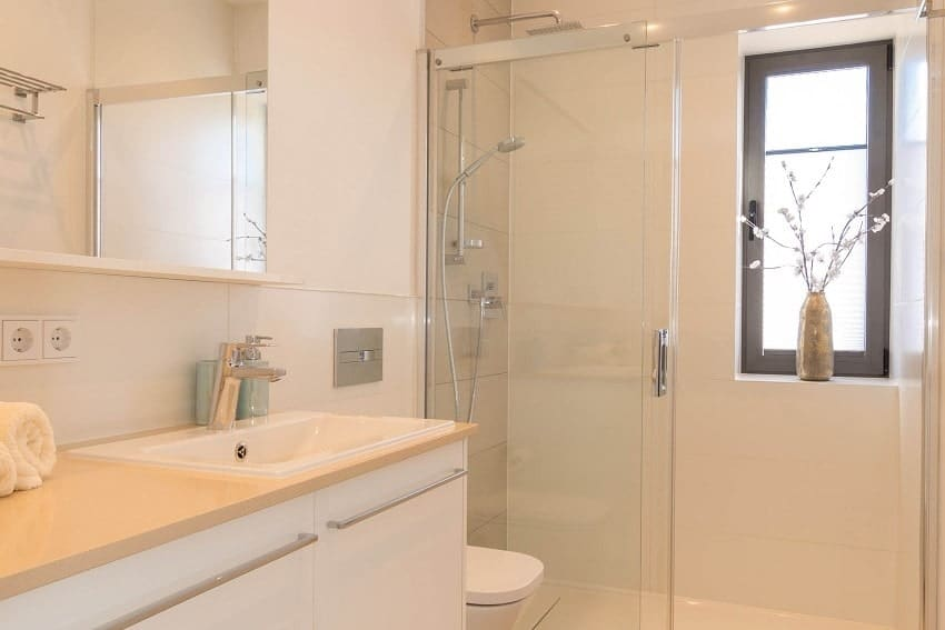 Bathroom with Shower, Villa Hahn, Villa La Palma