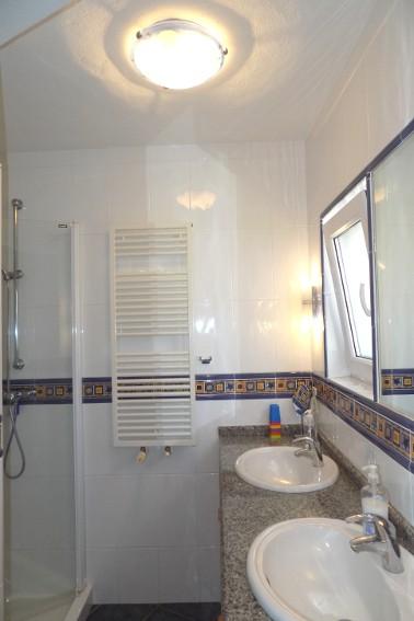 Spain - Canary Islands - La Palma - Tajuya - Casa La Palmera - Bathroom with shower