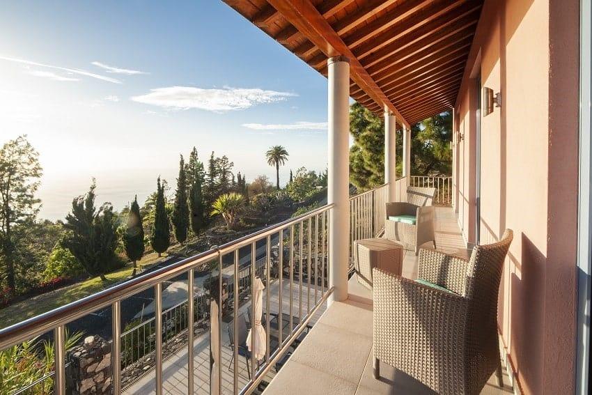 Balcony, Casa San Borondon, Luxury Holiday Home La Palma