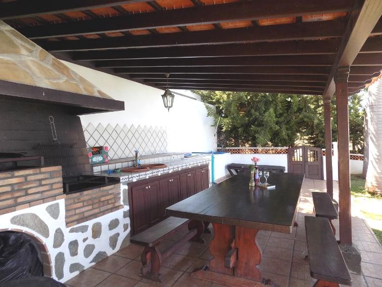 Spain - Canary Islands - La Palma - La Punta - Casa Rincón del Átlantico - Barbecue corner
