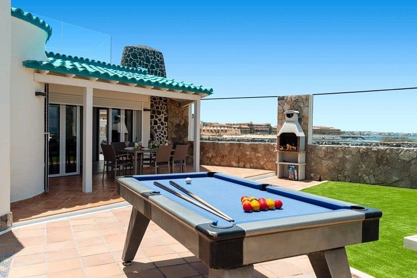 Mesa de Billar, Villa Lobos, Villa Fuerteventura