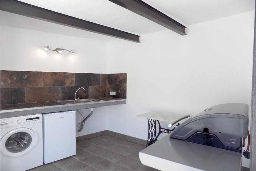 Spanien - Kanarische Inseln - La Palma - Tazacorte - Casa Maria - Modernes Stadthaus mit Sonnenterrasse - Dachterrasse mit Grill und Waschmaschine
