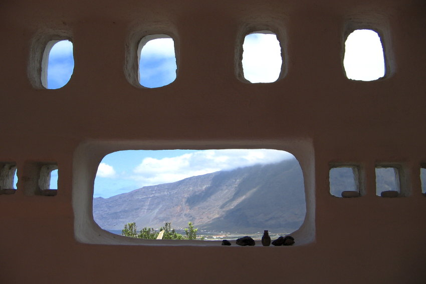 Spain - Canary Islands - El Hierro - Frontera - Casa Estrella - Mountain view