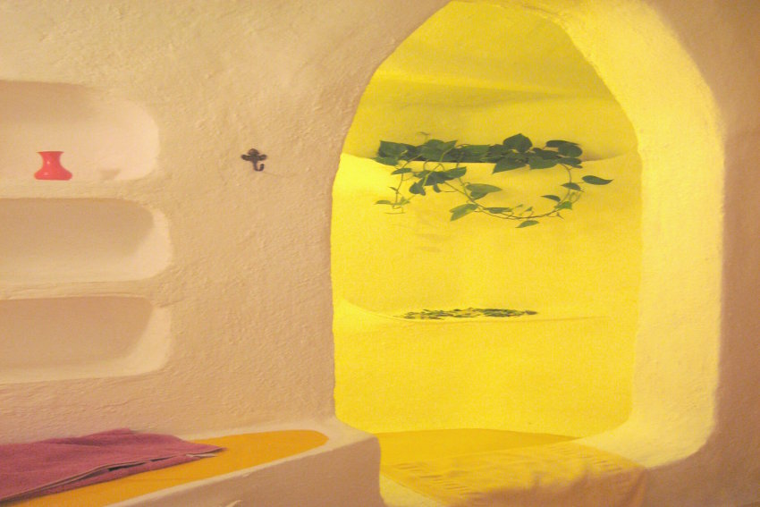 Spain - Canary Islands - El Hierro - Frontera - Casa Estrella - Bathroom with shower