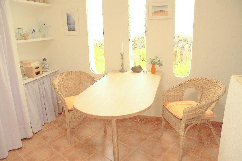 Spain - Canary Islands - El Hierro - Frontera - Casa Estrella - Kitchen with dining table