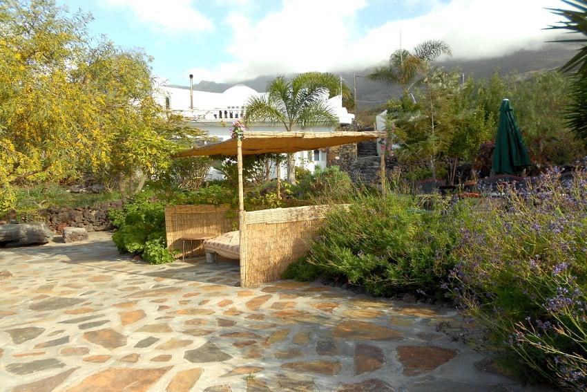Spain - Canary Islands - El Hierro - Frontera - Casa Estrella - Garden terrace