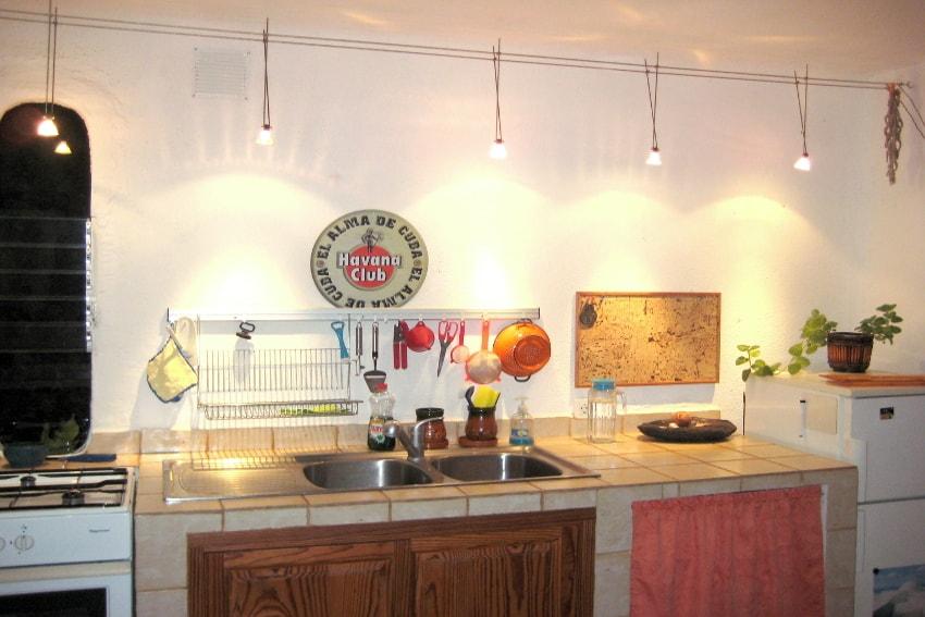 Spain - Canary Islands - El Hierro - Frontera - Casa Estrella - Kitchen
