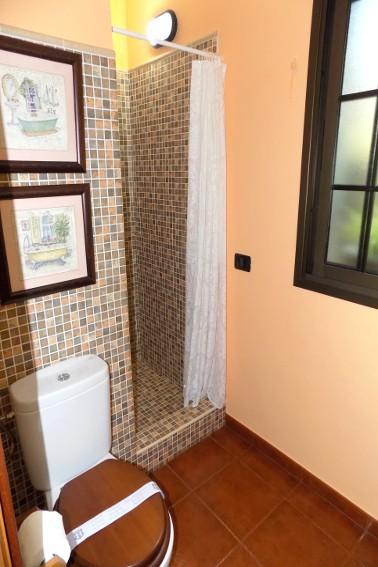 Spain - Canary Islands - El Hierro - Valverde - Casa La Florida 2 - Bathroom en-suite with shower