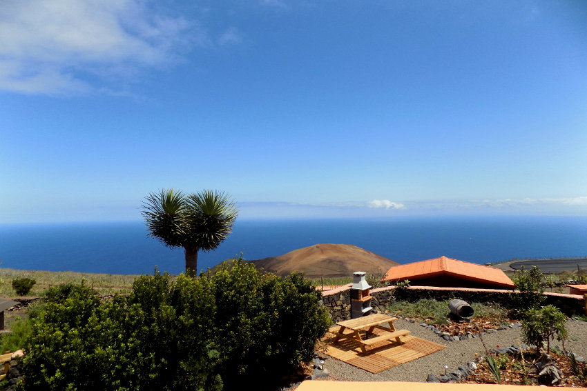 Spain - Canary Islands - El Hierro - Valverde - Casa La Florida 2 - Cozy, intimate and comfortable country house with barbecue and stunning ocean views