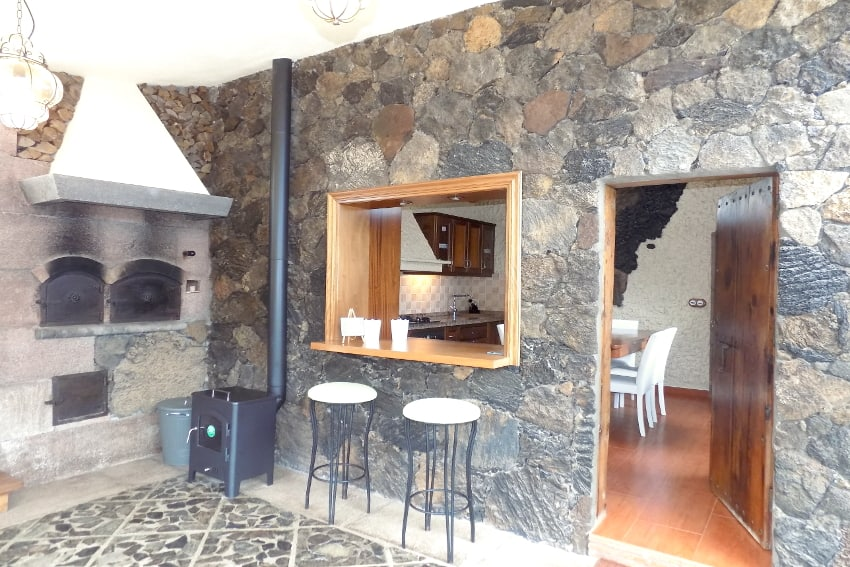 Spain - Canary Islands - El Hierro - Valverde - Casa La Florida 1 - Cozy, intimate and comfortable country home with wood burning stove